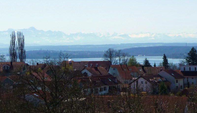 See-/Bergpanorama