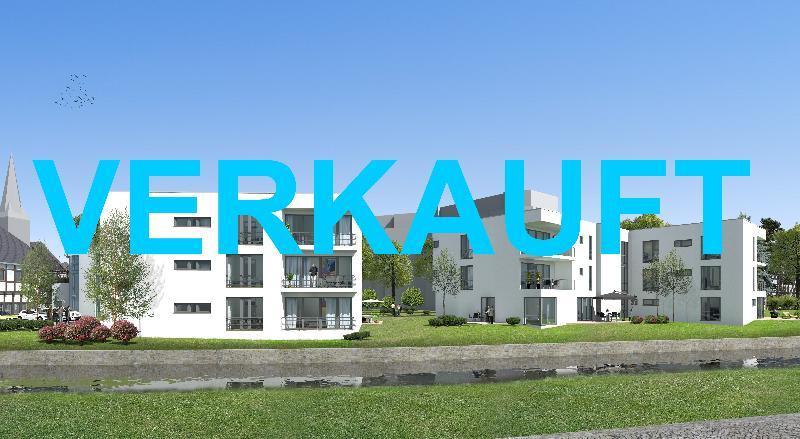 Wohnen an der Itter ! Attraktive 2-Zimmer Erdgeschosswohnung in grüner Innenstadtlage von Hilden