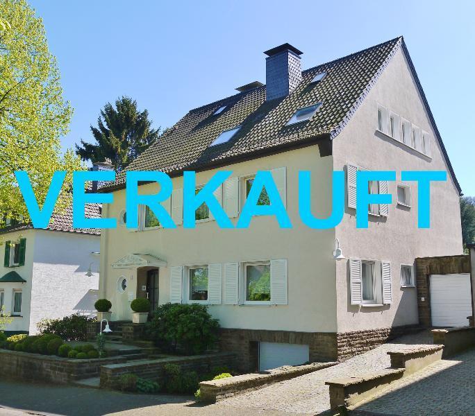 Stilvolles 2-3 Familienhaus in sehr guter Lage von Wuppertal-Vohwinkel