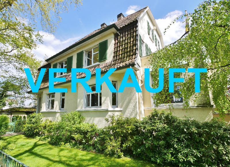 Elegante Unternehmervilla aus der Jahrhundertwende in zentraler Lage von Vohwinkel