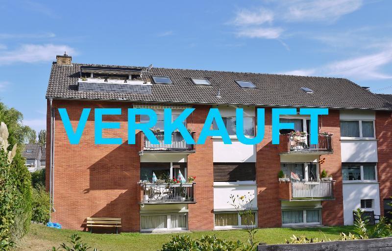 Sympathische 4-Zimmerwohnung in grüner Lage von Hilden-Ost