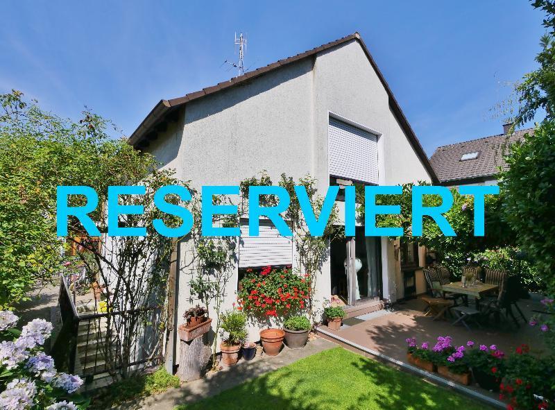 Attraktives freistehendes Einfamilienhaus in ruhiger Lage von Düsseldorf-Benrath