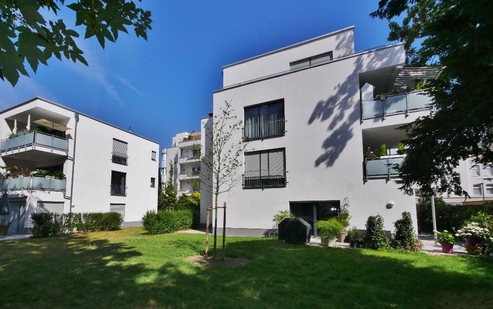 Wohnen an der Itter ! Exklusive 3-Zimmer Gartenwohnung in bester Innenstadtlage Hildens