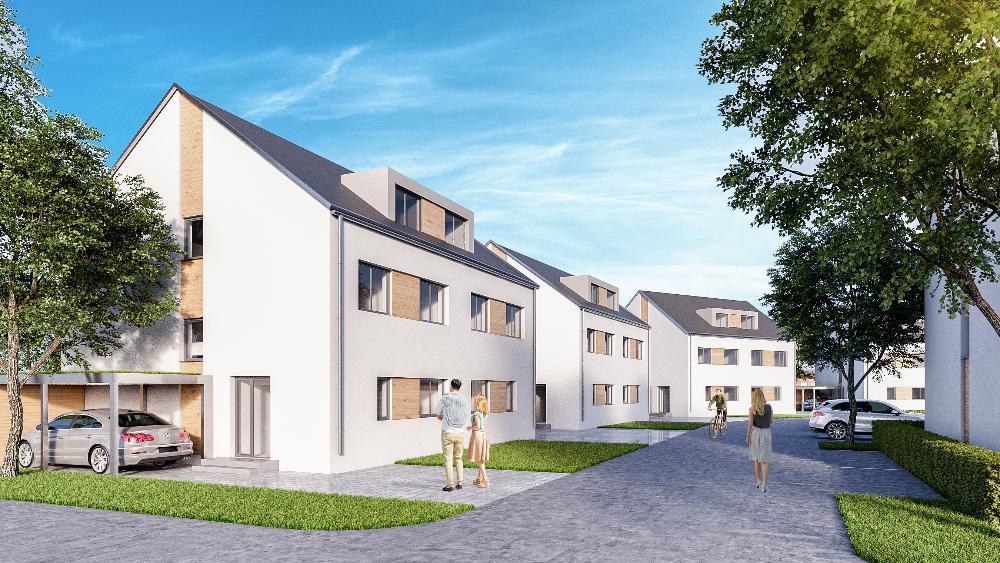 """Neubauvorhaben """"Wohnpark Am Teichkamp"""" Attraktive Doppelhaushälfte auf schönem Süd-West Grundstück"""
