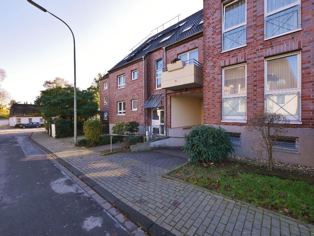 Attraktive, vermietete 2-Zimmer Etagenwohnung in gepflegter Wohnlage von Haan