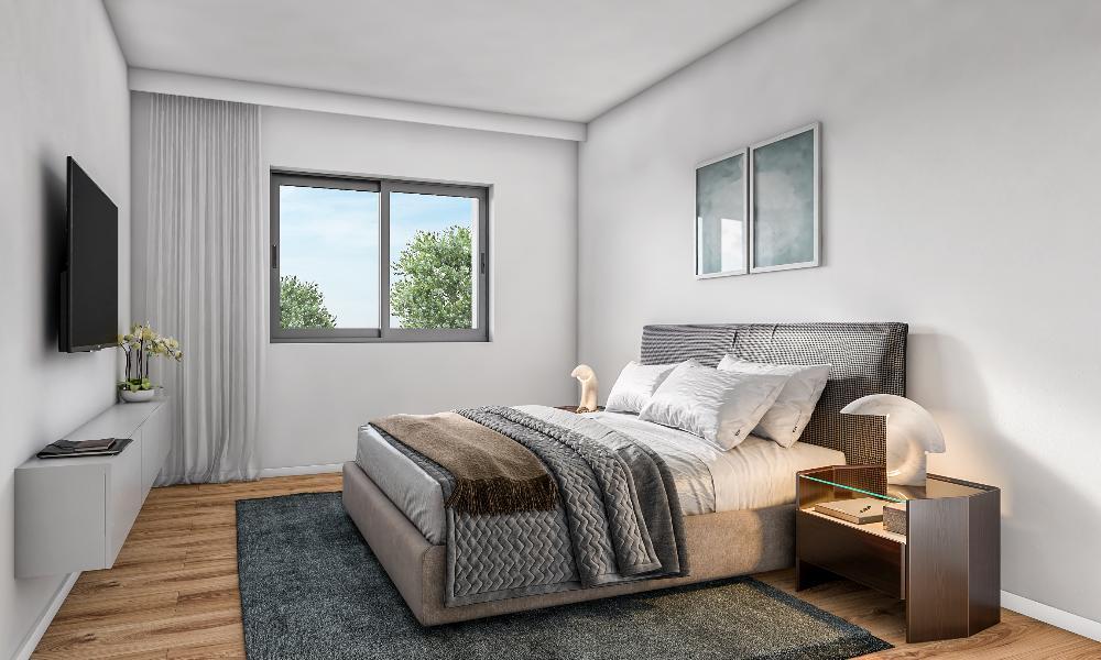 Einrichtungsbeispiel Schlafzimmer
