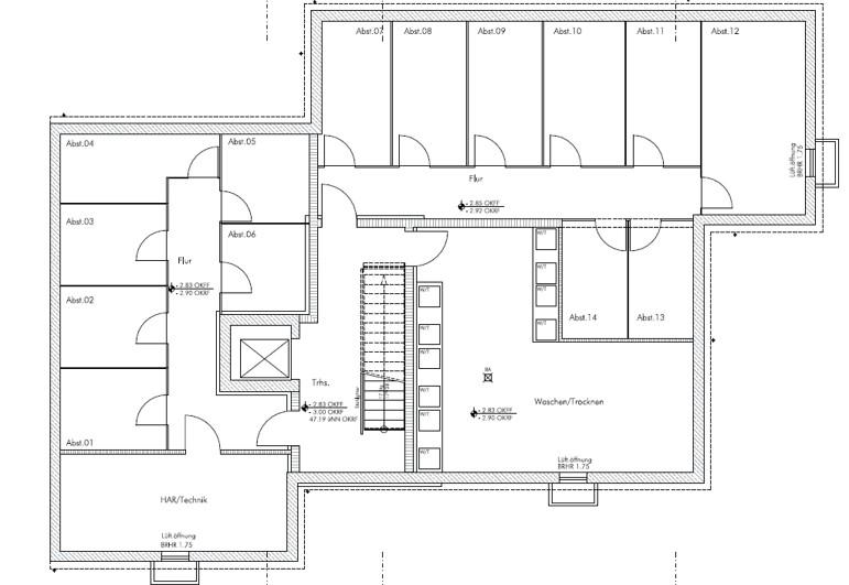 Komfortwohnen in ruhiger Citylage von Hilden - Untergeschoss