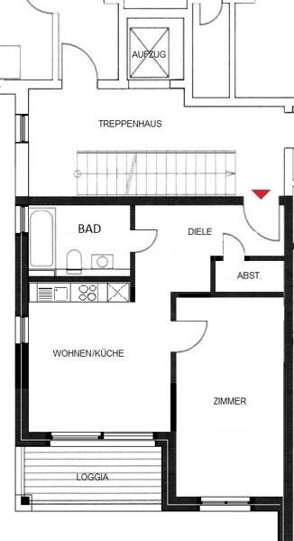 Komfortwohnen in ruhiger Citylage von Hilden - Wohnung Nr. 6