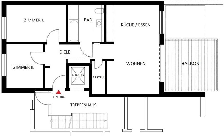 Komfortwohnen in ruhiger Citylage von Hilden - Wohnung Nr. 7