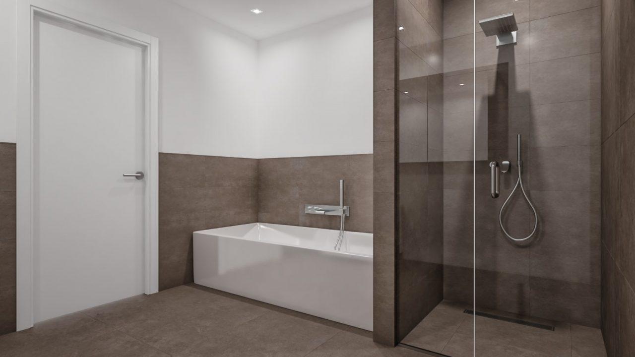 Komfortwohnen in ruhiger Citylage von Hilden - Badezimmer Visualisierung