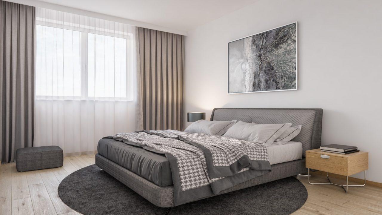 Komfortwohnen in ruhiger Citylage von Hilden - Schlafzimmer Visualisierung