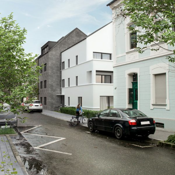 Komfortwohnen in ruhiger Citylage von Hilden - Straßenansicht